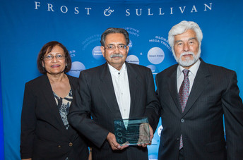 "Frost & Sullivan honors Epinex Diagnostics, Inc. as the recipient of the 2014 ""New Product Innov"