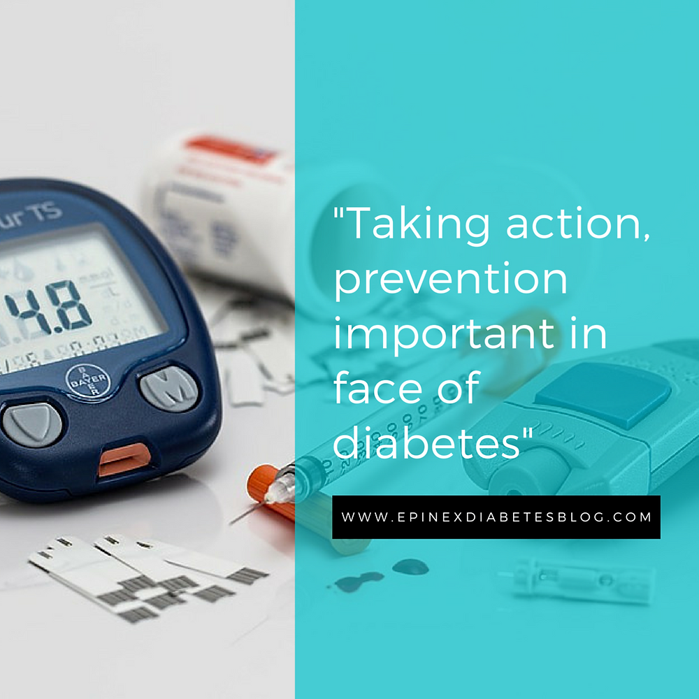 Taking action, prevention important in face of diabetes