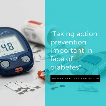 """Taking action, prevention important in face of diabetes"""