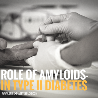 """Role of amyloids in type II diabetes"""