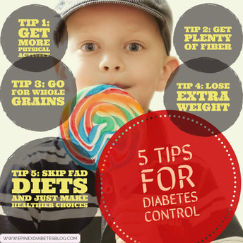 5 Tips for Diabetes Control