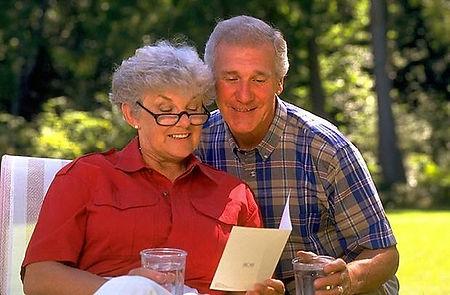 Dom Starców - osoby starsze