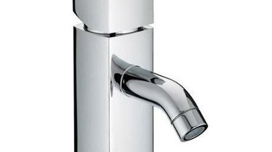 Bristan JS2 Contemporary 1 Hole Bath Filler - Chrome