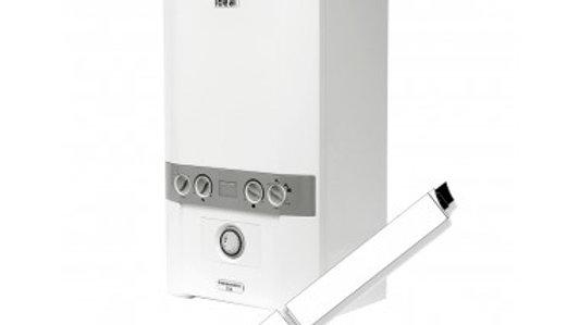 Ideal Independent C24 Plus Combi Boiler Pack - Horizontal flue & clock