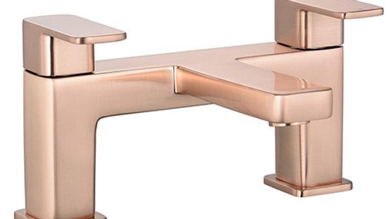Turin Modern Rose Gold Bath Filler Tap