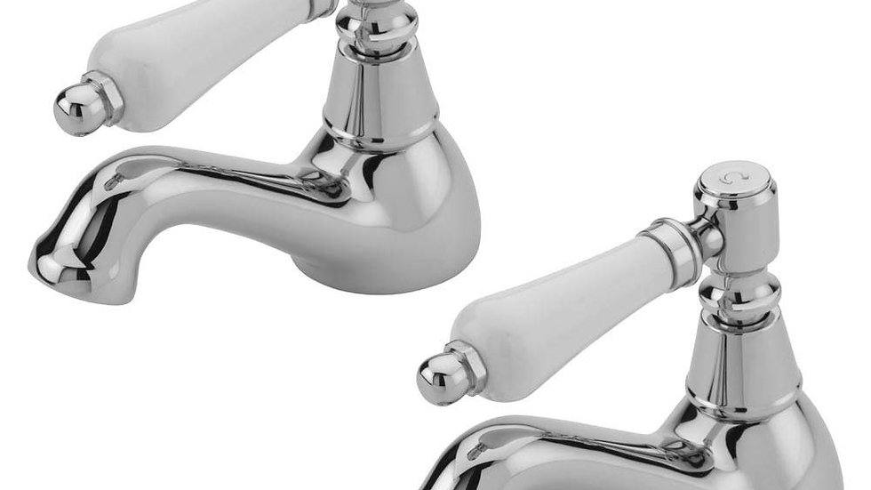 Tre Mercati Victoria Bianco Bath Taps - Chrome