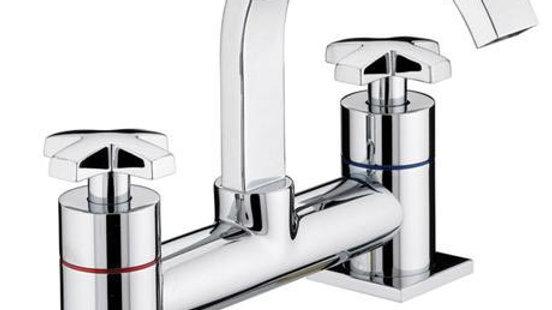 Bristan - Moloko Bath Filler - Chrome