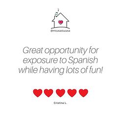 Spanish classes baby