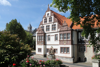 Bad Gandersheim -Renaissancegiebel Abtei