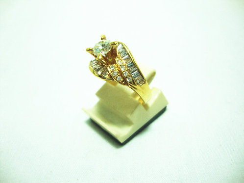 20K GOLD DIA RING 1/48P 14/28P 24/72P