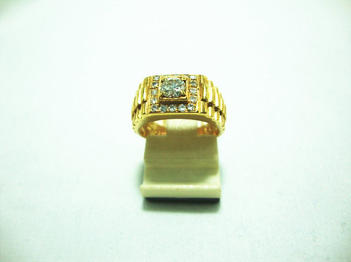 14K GOLD DIA RING 1/25P 16/16P