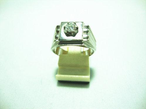 18K WHITE GOLD DIA RING 1/29P