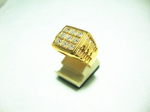 20K GOLD DIA RING 140P