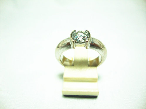 18K WHITE GOLD DIA RING 1/69P