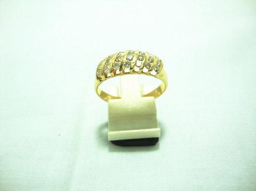 20K GOLD DIA RING 21/84P