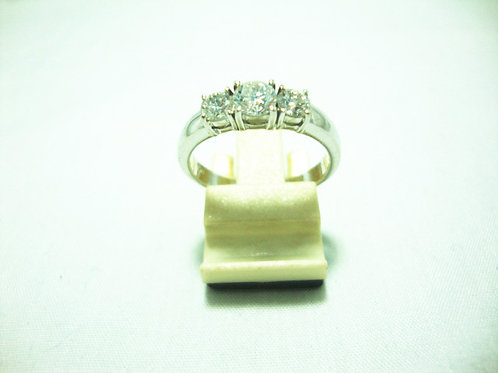18K WHITE GOLD DIA RING 1/30P 2/20P