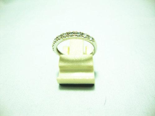 18K WHITE GOLD DIA RING 9/36P