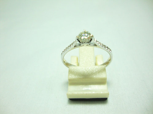 18K WHITE GOLD DIA RING 1/23P 18/18P