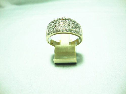 18K WHITE GOLD DIA RING 55/55P