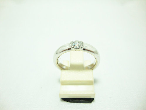 PT950 WHITE GOLD DIA RING 1/25P ( TIFFANY & CO )