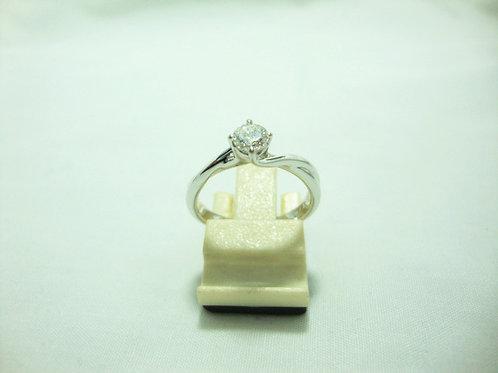 18K WHITE GOLD DIA RING 1/30P