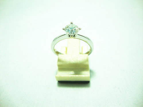 18K WHITE GOLD DIA RING 1/53P