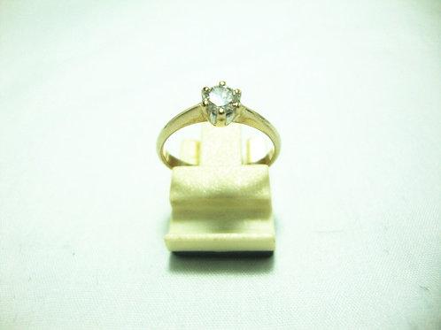 20K WHITE GOLD DIA RING 1/26P