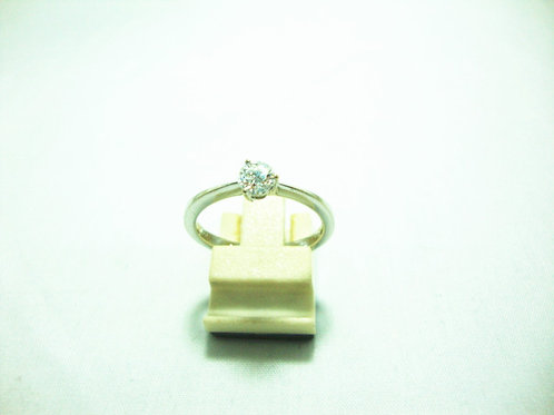 18K WHITE GOLD DIA RING 1/30P