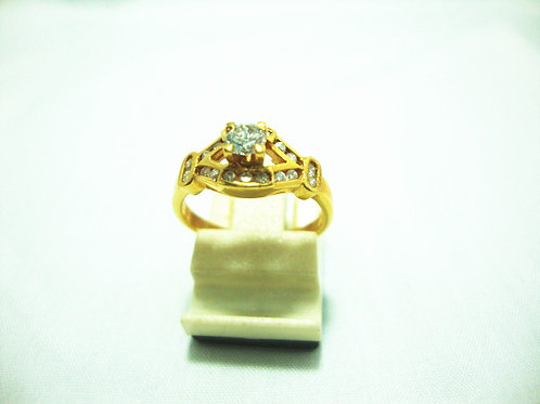 20K GOLD DIA RING 32P