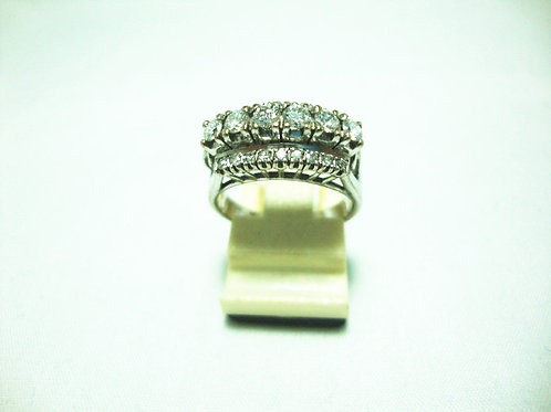 18K WHITE GOLD DIA RING 6/60P