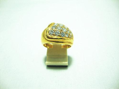 18K GOLD DIA RING 200P