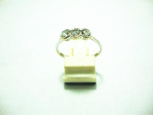 18K WHITE GOLD DIA RING 3/60P