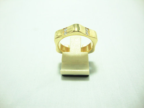 18K GOLD DIA RING 12/48P ( MOUNTBLANC )
