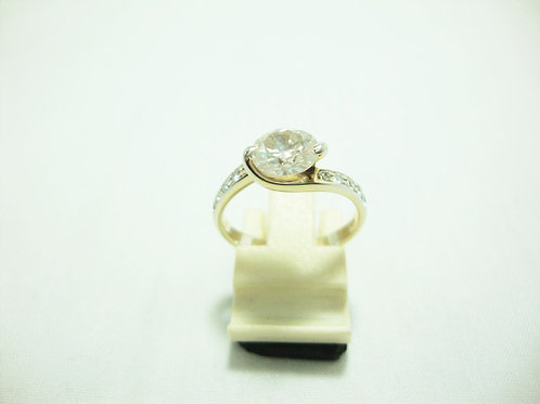 18K WHITE GOLD DIA RING 1/137P 10/30P
