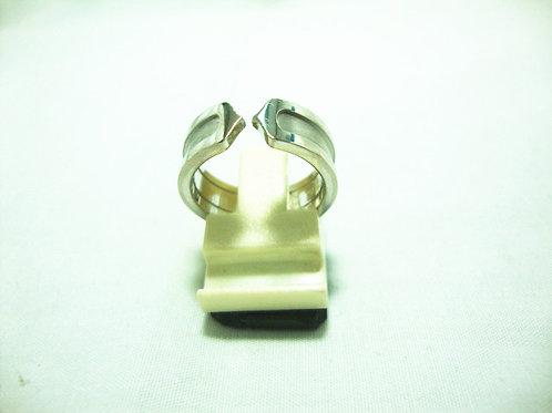 18K WHITE GOLD RING ( CATIER )
