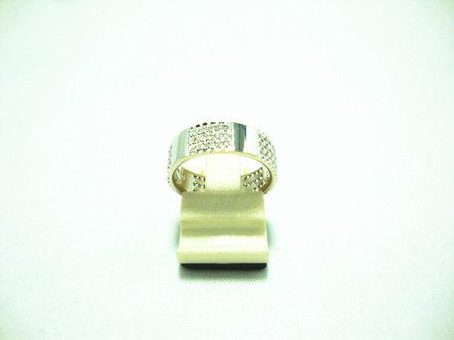18K WHITE GOLD DIA RING 75/75P