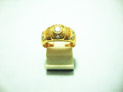 20K GOLD DIA RING 30P