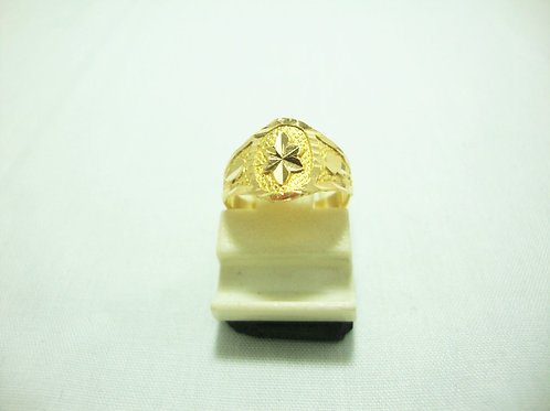 916 GOLD BABY RING