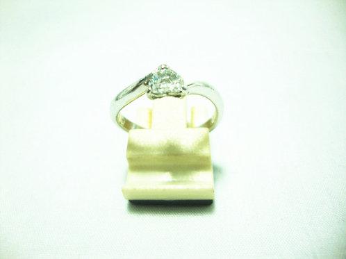 PLATINUM 950 WHITE GOLD DIA RING 1/33P