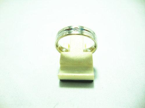 18K WHITE GOLD DIA RING 1/3P