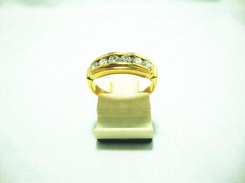 20K GOLD DIA RING 6/60P