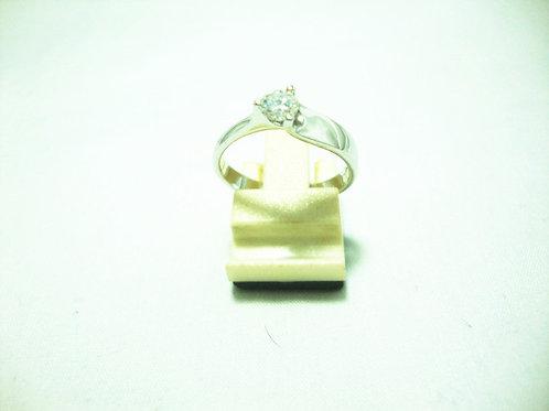 18K WHITE GOLD DIA RING 30P