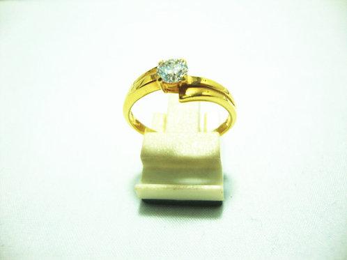 18K GOLD DIA RING 1/31P