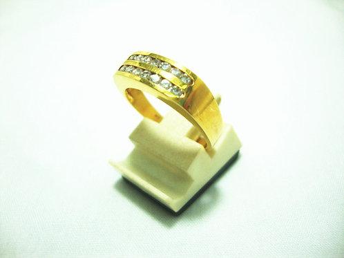 14K GOLD DIA RING 14/30P