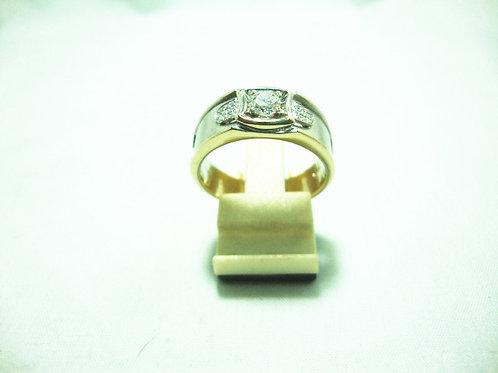18K WHITE GOLD DIA RING 1/36P 20/20P