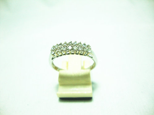 18K WHITE GOLD DIA RING 36/72P