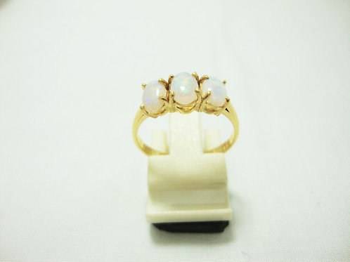 916 GOLD STONE RING