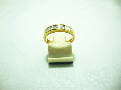 18K GOLD DIA RING 8/40P