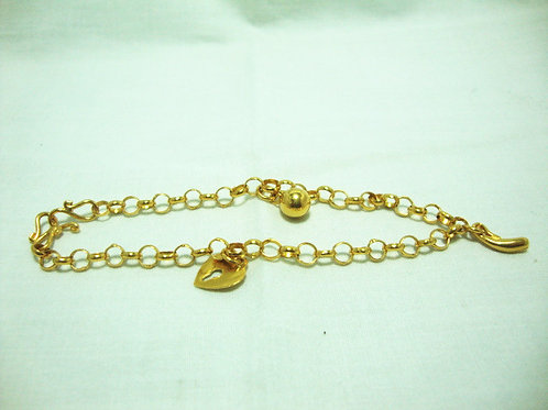 916 GOLD BABY ANKLET