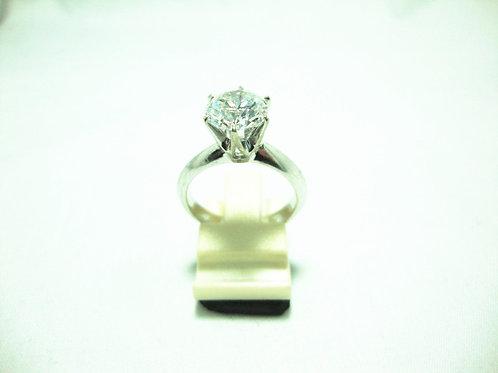18K WHITE GOLD DIA RING 1/230P